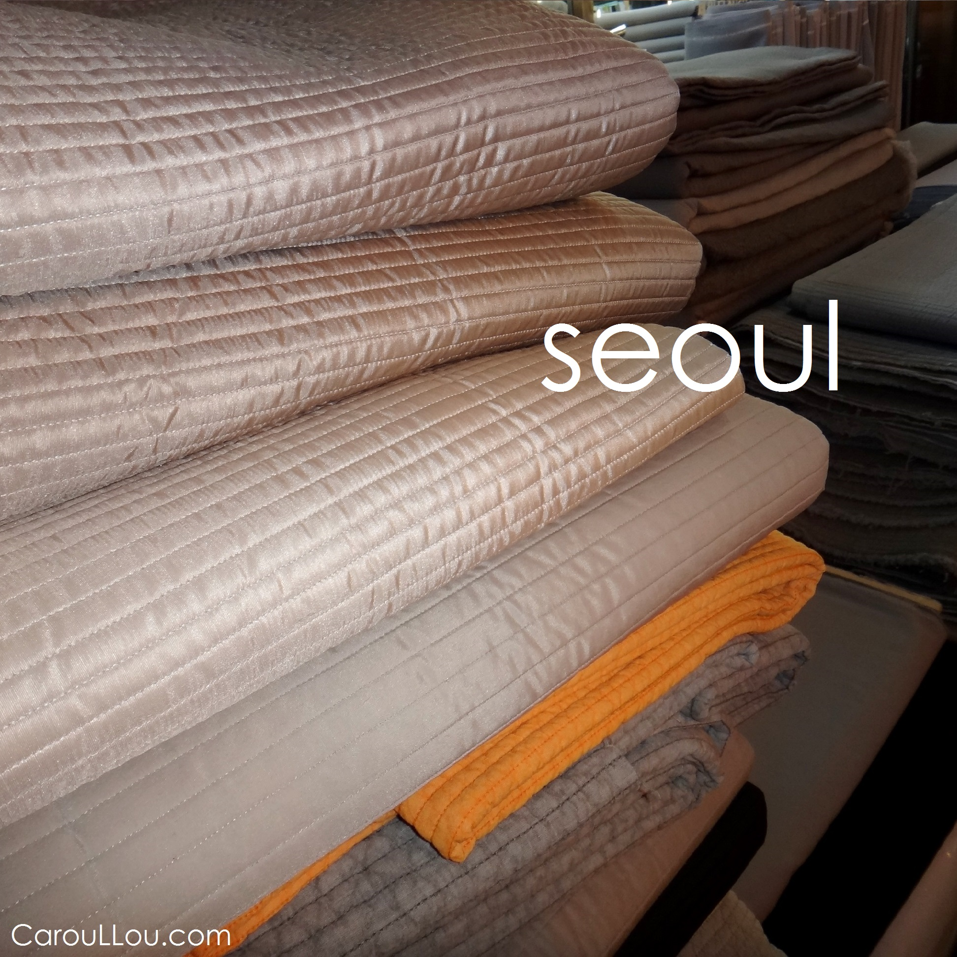CarouLLou.com Carou LLou in Seoul South Korea material munks +-